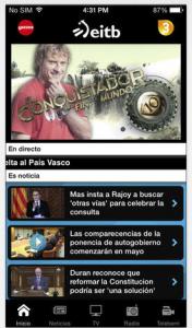 App nuachta i mBascais ag EITB