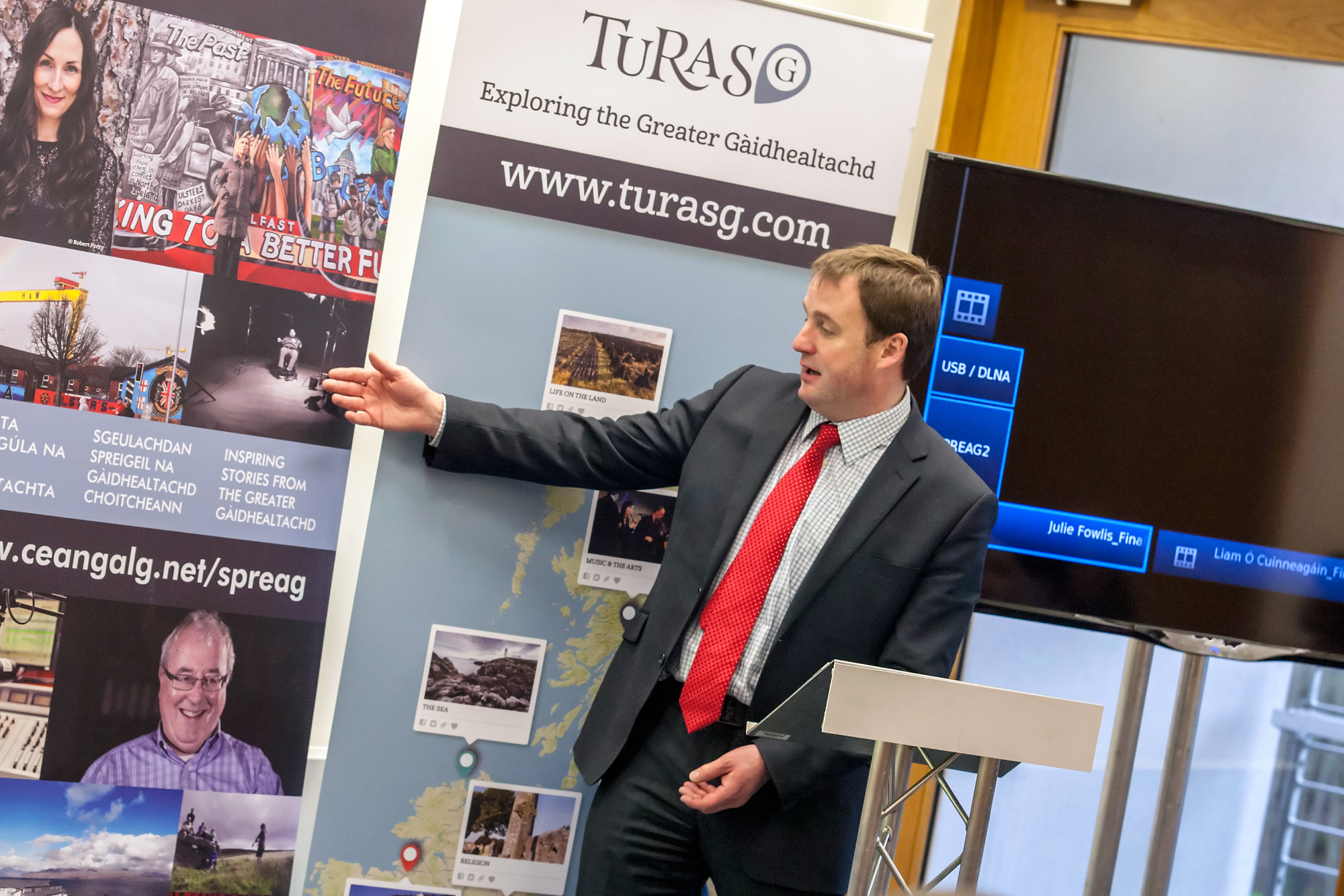 TurasG launch